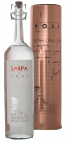 Sarpa di Poli Grappa 40 % in runder Metalldose