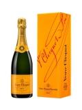 Veuve Clicquot Brut Champagner in Geschenkpackung
