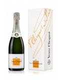Veuve Cliquot Demi Sec Champagne in Geschenkkarton